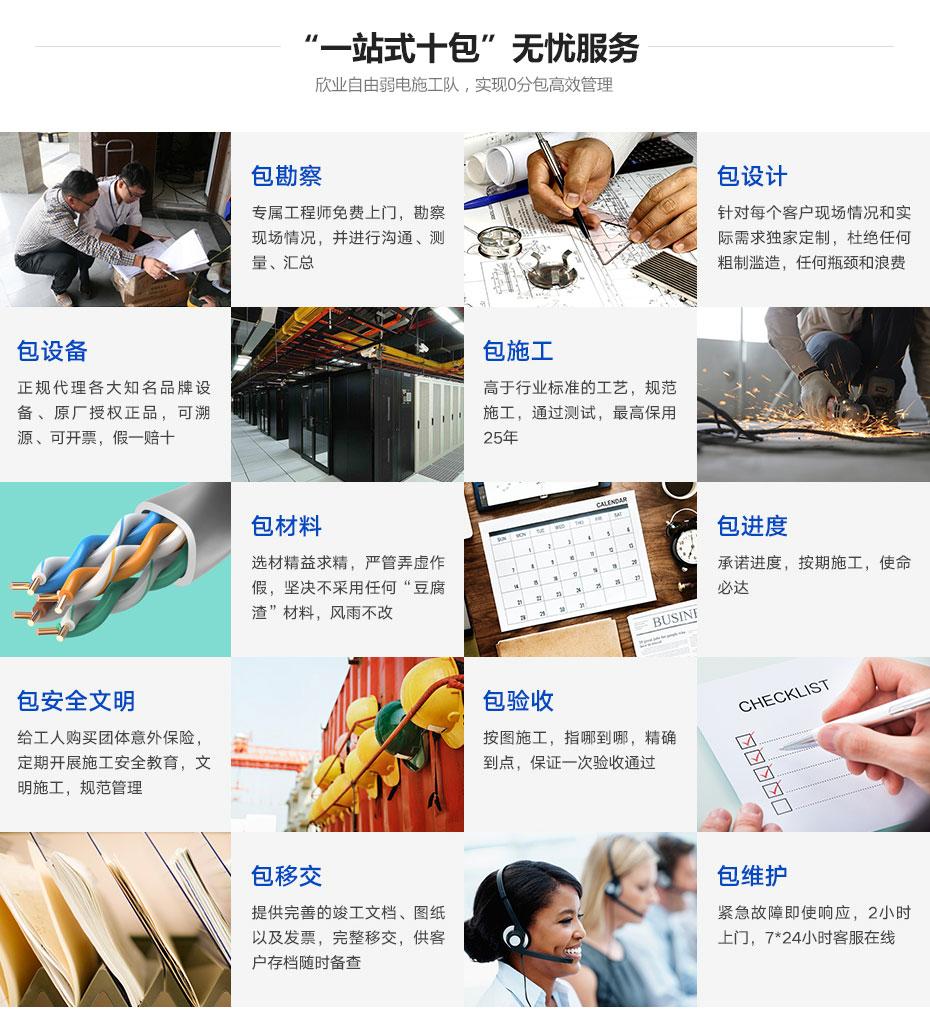 广州欣业 电脑设备 系统集成 弱电工程